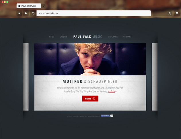 schauspieler official website